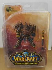 WoW World Of Warcraft Series 1 Thargas Anvilmar Action Figure Sealed 2007