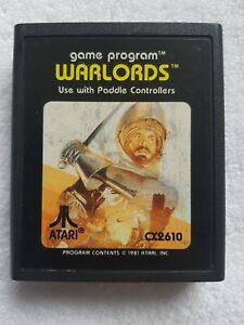 Warlords for the Atari 2600  7800 CART ONLY