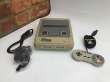 Super Nintendo Console Bundle - Yellowed / CONDITION - SNES PAL / Tested Working