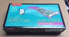 Adaptec Ultra 2 SCSI RAID Card AAA-133U2-KIT 3 Channel PCI