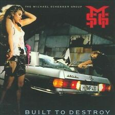 Built to Destroy by Michael Schenker/Michael Schenker Group (CD, Jun-2009, EMI)
