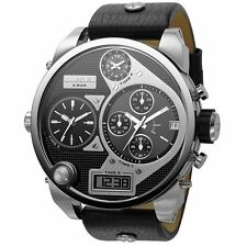 Stainless Steel Case Analogue & Digital Matte Watches