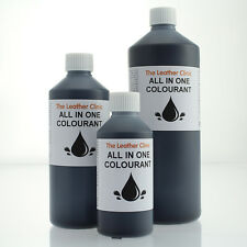 BLACK All In One Leather Colourant / Dye for VAUXHALL Car Interior Seats.