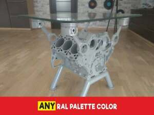 Engine Block Coffee Table - Top Gear Style - Audi / VW car part furniture