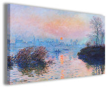 Quadro moderno Claude Monet vol XIII stampa su tela canvas pittori famosi