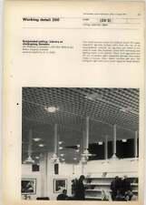 1971 Suspended Ceiling In Library At Jonkoping Sweden, Jan Wallinder