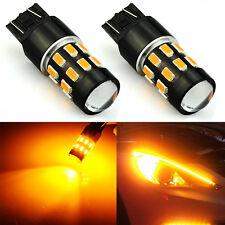 JDM ASTAR 7443 7440 Amber Yellow 24SMD Turn Signal Blinker Marker LED Light Bulb
