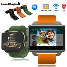 "2.2"" 3G WiFi Smart Watch GPS GSM SIM Android Phone Heart Rate Monitor Camera"
