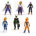 6 pièces lot jouet animé DBZ Dragon Ball Z poupée figurine Goku Piccolo