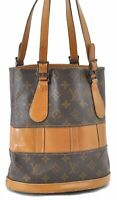 Authentic Louis Vuitton Monogram Bucket PM Shoulder Bag USA Model LV A9795