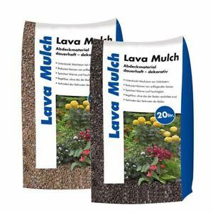 (0,55€/1l) Hamann Lavamulch 20 l Mulch Gartengestaltung - Variantenauswahl