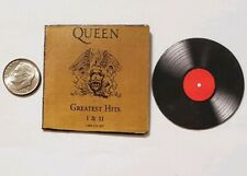 Miniature record album Barbie Gi Joe 1/6 Playscale Queen Mercury Greatest Hits