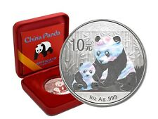 10 Yuan Silber CHINA PANDA 2012  Holographics Edition in Box + CoA
