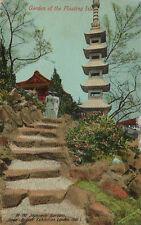 EXHIBITION : 1910 JAPAN-BRITISH-Garden -VALENTINE'S-Japan-British d/ring