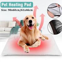 S/L Hund Katze Haustier Matte Bett Pad Selbst Heizung Weich Warm Teppich Thermo