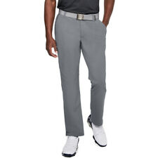 1253492under Armour Match Play Taper Pants Golf Flat Front Trousers 34/34 Grey