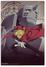 Fullmetal Alchemist A5 Clear Shitajiki Pencil Board Gold Leaf Text Ed & Al