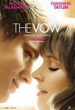 THE VOW ORIGINAL DOUBLE SIDED FILM MOVIE POSTER 69x102cm Channing Tatum McAdams