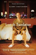Lost In Translation movie poster - Bill Murray poster 11 x 17 inches
