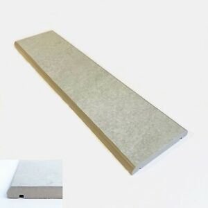 """Porcelain Coping Stone - 150x600mm - 6"""" - Light Grey - not concrete coping stone"""