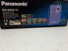 Panasonic RQ-SX43 Walkman