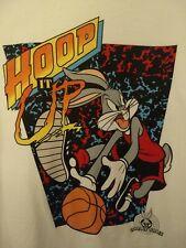 Vintage Looney Tunes Hoop It Up Bugs Bunny Basketball Shirt Xl