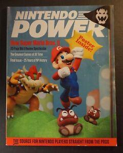 Nintendo Power Magazine New Super Mario Bros. U. 2012 Vol. #285 Last Issue RARE