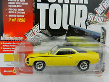 2017 Johnny Lightning *MUSCLE CARS USA HOT ROD 2A* YELLOW 1969 Chevy Camaro SS