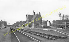 Holton-le-Moor Railway Station Photo.  Moortown - Claxby & Usselby. GCR. (1)