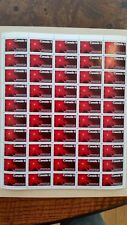 Canadian stamps full sheet of 50, Ernest Rutherford, #534, MNH