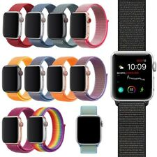 For Apple Watch Nylon Strap iWatch Series 3/4/5/6 Woven Loop Band 38/40/42/44mm