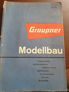 Graupner Katalog 18 FS von 1963