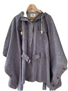 Aigle Poncho Style Rain Jacket
