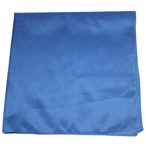 Plain Extra Large Polyester Bandana - 27 x 27 Inches - Party and Decoration
