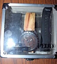Flud WATCH mens includes interchangeable straps and Fall of Empires case