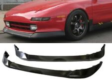 AW STYLE POLY URETHANE FRONT BUMPER LIP PROTECTOR ADD ON FOR 91-95 TOYOTA MR2