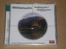 FELIX MENDELSSOHN - SYMPHONY N. 3  & N. 4 - CD SIGILLATO (SEALED)