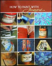 How to paint with Jacquard - Dye-Na-Flow, Textile Traditionals & Lumiere