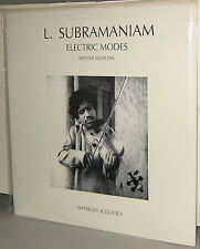 Water Lily WLA-CS-04 LP: L. SUBRAMANIAM - Electric Modes - Winter - 1988 OOP SS