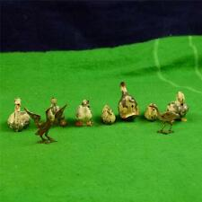 Lovely Vintage Farm Britains, Ducks-5, Goose-2, Swan-2 RD6814
