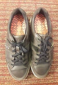 Ecco  Dark Brown Leather Spikeless Golf Shoes Mens SIZE 11-11.5 / EU 45