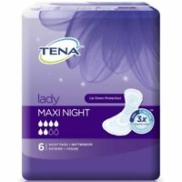 Pack of 6 Discreet Maxi Night Disposable Pads