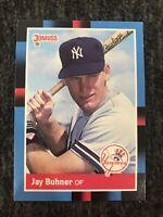 1988 Donruss #545 Jay Buhner RC YANKEES Near Mint-mint New York Yankees