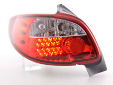 LED FAROS TRASEROS peugeot 206 3/5 TRG. sin convertible año 98-05 rojo