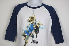 The Legend of Zelda Breath of the Wild Promo T-Shirt Nintendo Wii U Switch : L