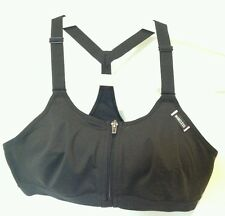 BNWT Victoria's Secret VSX Sport Black racerback Exercise Bra Top 34B support