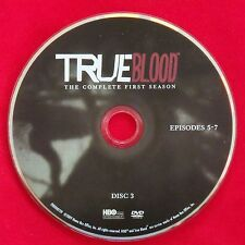 True Blood Season 1 Disc 3 Replacement DVD - Free Shipping - First Season