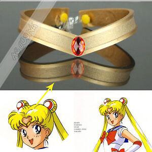 Sailor Moon Tsukino Usagi Cosplay Prop Accessory Tiara Headwear Headband
