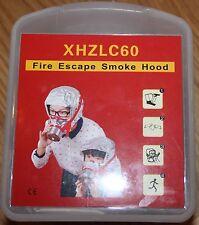 Fire Escape Mask Smoke Hood  60 Minutes Integrity.