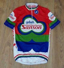Sanson Gelati Castelli very rare vintage cycling jersey size 4 (L)
